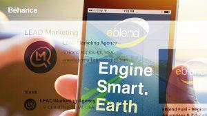 Behance Portfolio for Advertising Agencies