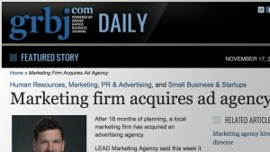 Grand Rapids Marketing Agency Acquires Advertising and Design
