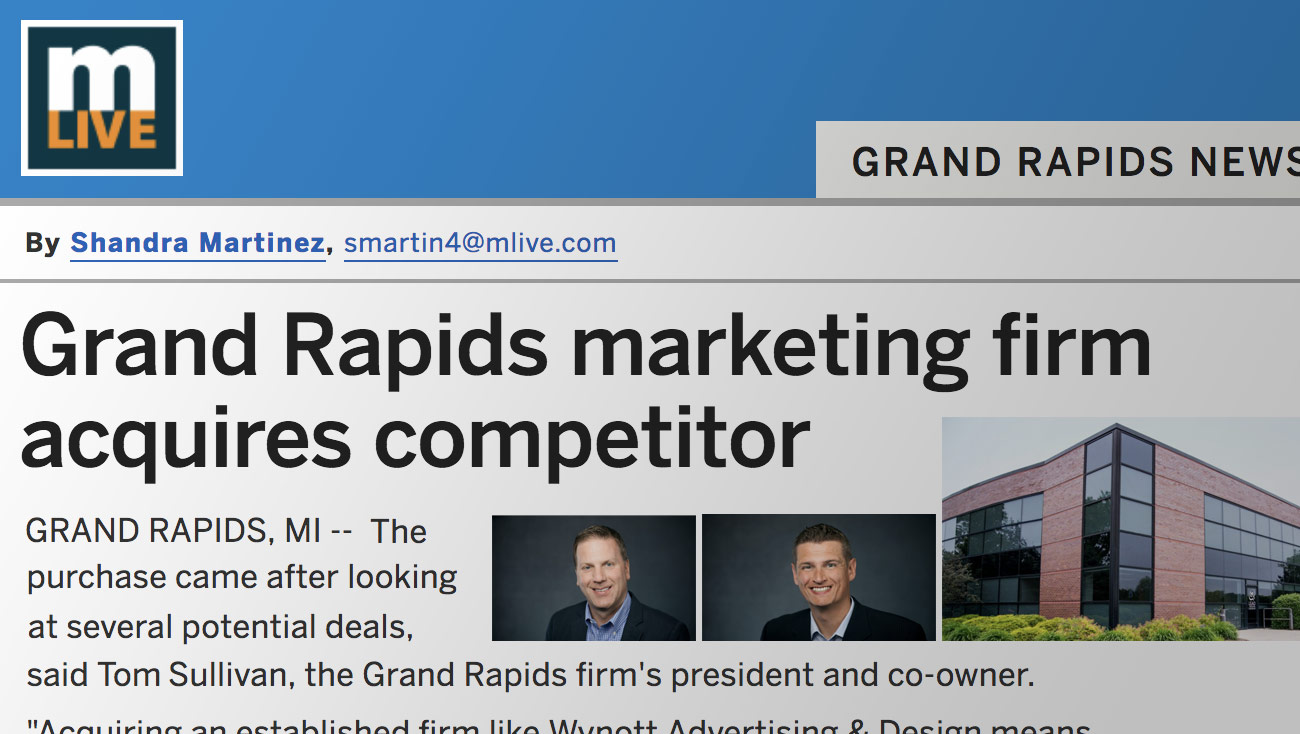 Grand rapids marketing firm acquires competitor lead for Grand rapids architecture firms
