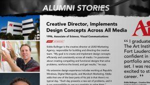 Alumni Stories Eddie Bullinger Creative Director