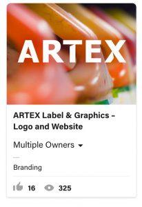 From Eddie Bullinger Creative Portfolio – Artex Labels and Graphics