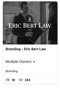 From Eddie Bullinger Creative Portfolio – Eric Bert Law