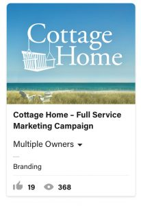 From Eddie Bullinger Creative Portfolio – Cottage Home