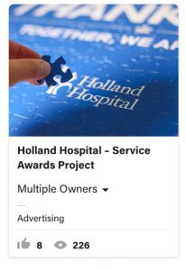 From Eddie Bullinger Creative Portfolio – Holland Hospital