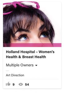 From Eddie Bullinger Creative Portfolio –Holland Hospital