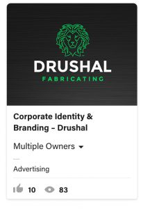 From Eddie Bullinger Creative Portfolio – Drushal Fabricating