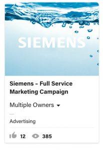 From Eddie Bullinger Creative Portfolio – Siemens