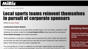 Sports Marketing Full Service Agency