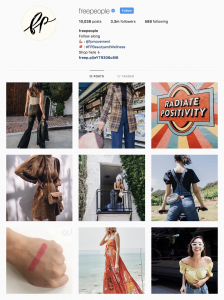 free people instagram lead marketing grand rapids michigan