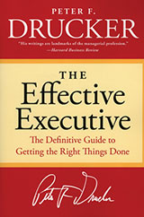 The-Effective-Executive-Peter-Drucker-book-review-list