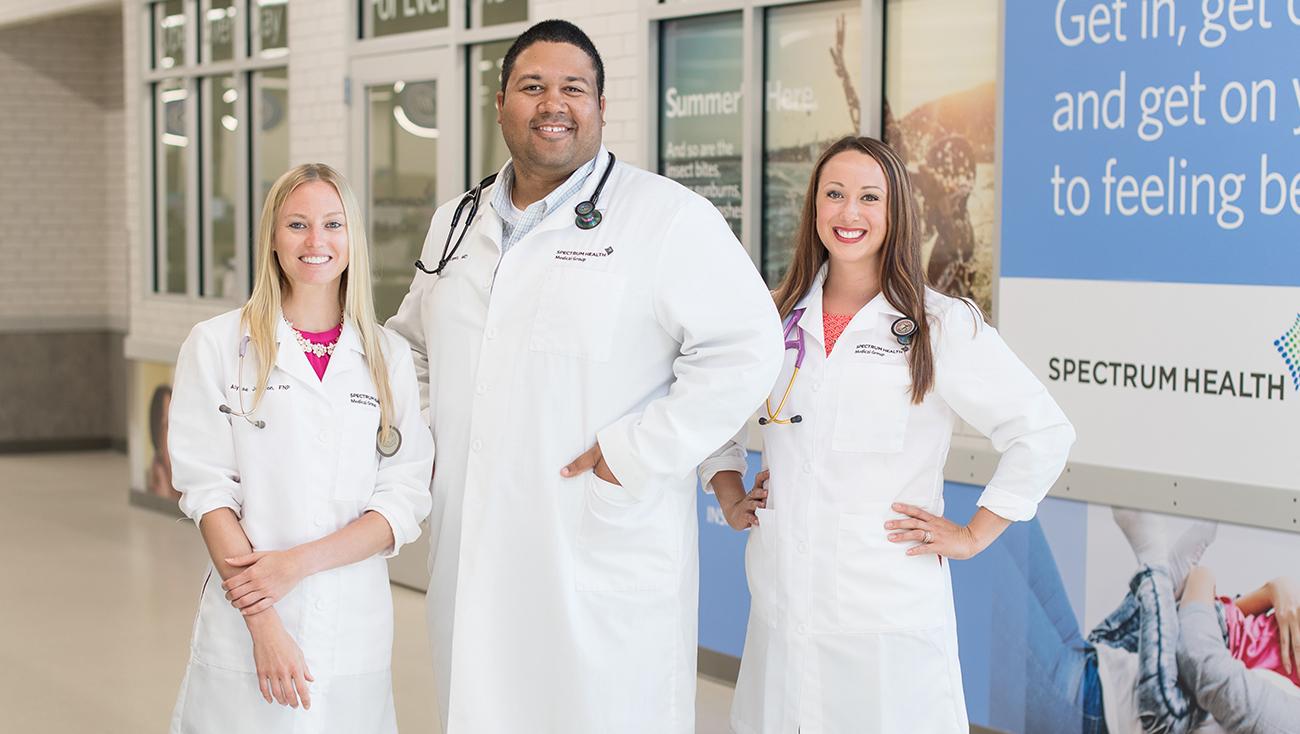 spectrum health walk-in clinic meijer lead marketing grand rapids michigan