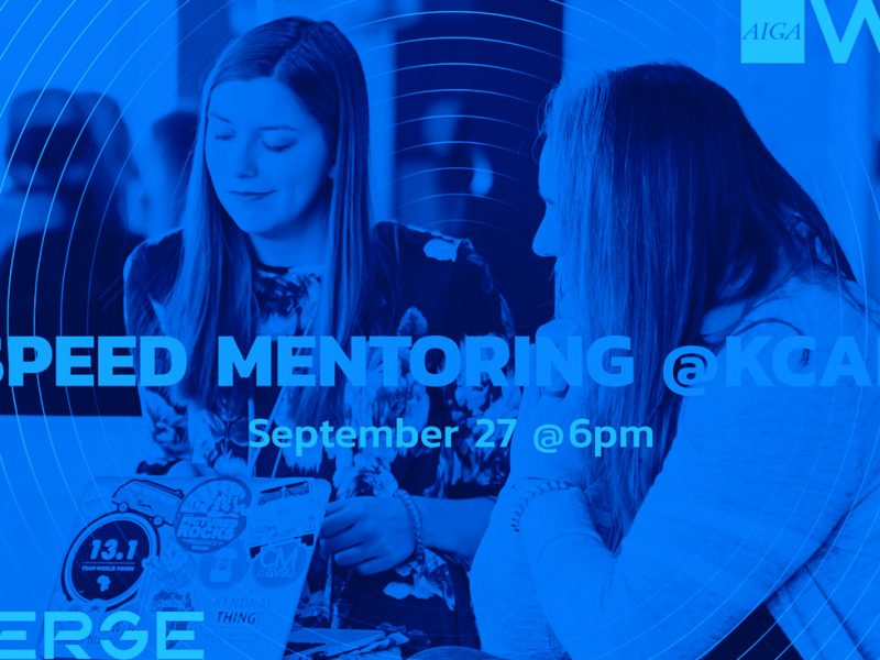 EMERGE Speed Mentoring AIGA West Michigan