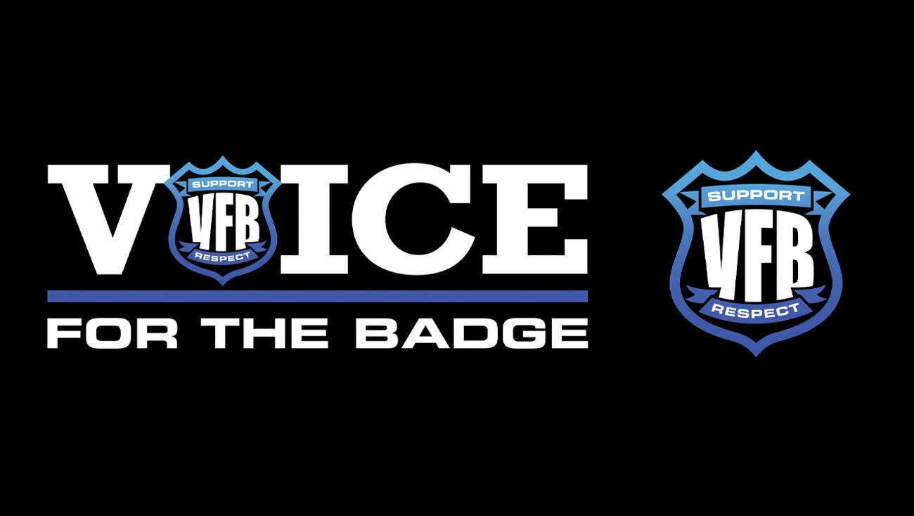 Logo design for non-profit featuring a badge