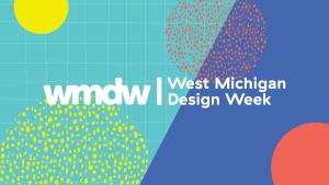 West Michigan Design Week logo and patterns