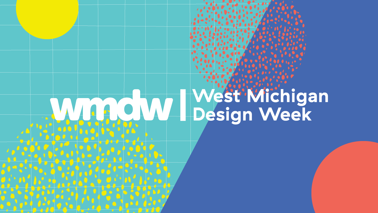 West Michigan Design Week logo and patterns
