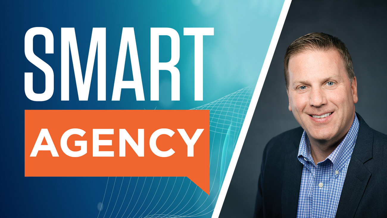 Smart Agency Logo Tom Sullivan headshot